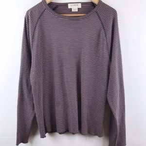J Crew Striped Boatneck long sleeve T-Shirt